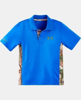 Boys' Infant UA Real Tree Polo