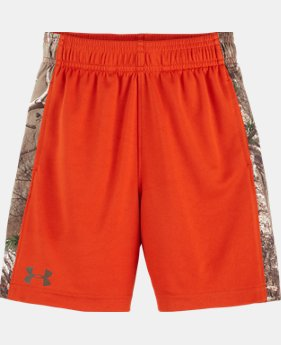 Boys' Pre-School UA Real Tree Ultimate Shorts