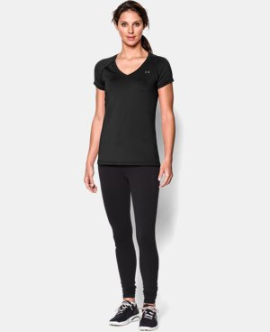 Women's UA HeatGear® Armour Short Sleeve  1 Color $15.74