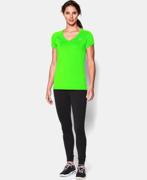 Women's UA HeatGear® Armour Short Sleeve LIMITED TIME: FREE U.S. SHIPPING 3 Colors $15.74 to $20.99