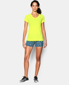 Women's UA HeatGear® Armour Short Sleeve LIMITED TIME: FREE U.S. SHIPPING 2 Colors $15.74 to $20.99