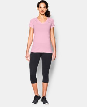 Women's UA HeatGear® Armour Short Sleeve  1 Color $16.99 to $20.99