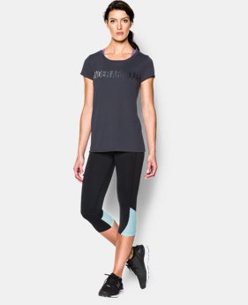 Women's UA Spectrum Stripe Scoop Neck