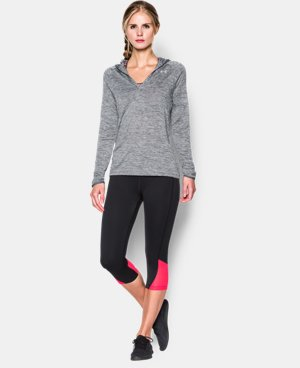 Women's UA Tech™ Long Sleeve Hooded Henley LIMITED TIME: FREE U.S. SHIPPING 1 Color $33.99 to $44.99