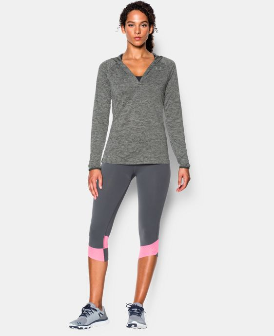 Women's UA Tech™ Long Sleeve Hooded Henley LIMITED TIME OFFER + FREE U.S. SHIPPING 4 Colors $33.74