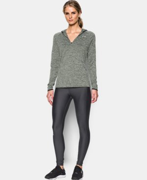Women's UA Tech™ Long Sleeve Hooded Henley LIMITED TIME OFFER + FREE U.S. SHIPPING 3 Colors $33.74