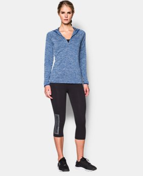 Women's UA Tech™ Long Sleeve Hooded Henley  1 Color $31.99 to $33.99