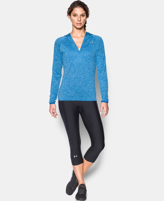 Women's UA Tech™ Long Sleeve Hooded Henley LIMITED TIME OFFER + FREE U.S. SHIPPING 20 Colors $33.74