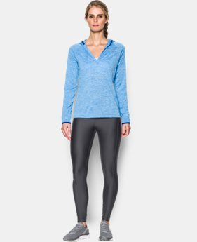 Women's UA Tech™ Long Sleeve Hooded Henley  4 Colors $20.99 to $33.99