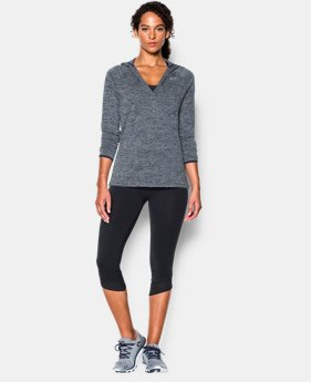 Women's UA Tech™ Long Sleeve Hooded Henley LIMITED TIME OFFER + FREE U.S. SHIPPING 7 Colors $33.74