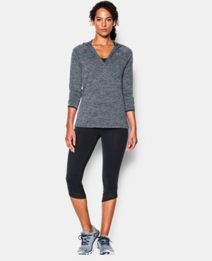 Women's UA Tech™ Long Sleeve Hooded Henley LIMITED TIME OFFER + FREE U.S. SHIPPING 10 Colors $33.74