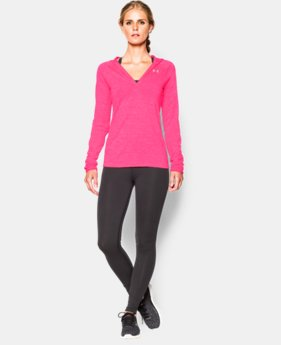 Women's UA Tech™ Long Sleeve Hooded Henley LIMITED TIME: FREE U.S. SHIPPING 1 Color $25.49 to $33.99
