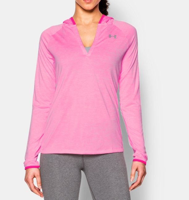 Under Armour Womens Henley Hoodie