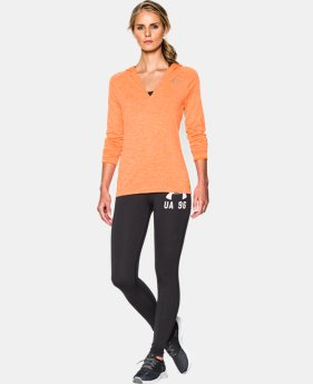 Women's UA Tech™ Long Sleeve Hooded Henley LIMITED TIME OFFER + FREE U.S. SHIPPING 1 Color $33.74