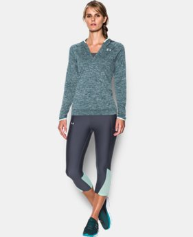 Women's UA Tech™ Long Sleeve Hooded Henley  1 Color $20.99 to $33.99