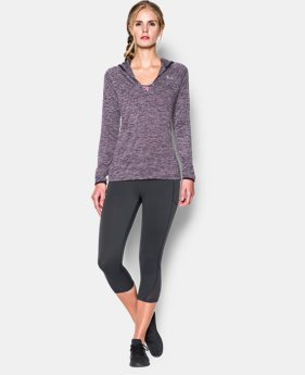 Women's UA Tech™ Long Sleeve Hooded Henley LIMITED TIME OFFER + FREE U.S. SHIPPING  $25.49 to $44.99