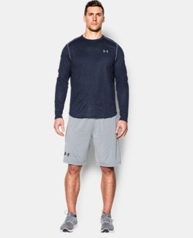 Men's UA Tech™ Waffle Long Sleeve  1 Color $20.24 to $26.99