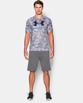 Men's UA Tech™ Sportstyle Printed T-Shirt