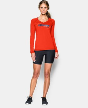 Women's UA Softball Graphic Long Sleeve   $37.99