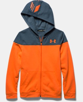 Boys' UA Surge Fleece Full Zip Hoodie