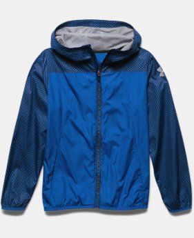 Boys' UA Storm Packable Woven Jacket