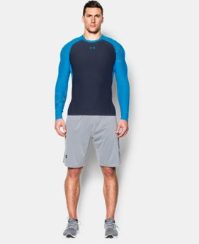 Men's UA HeatGear® Armour Graphic Long Sleeve Compression Shirt  1 Color $29.99