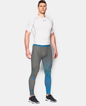 Men's UA HeatGear® Armour Graphic Compression Leggings  1 Color $37.99