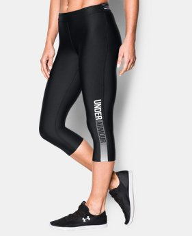 Women's UA HeatGear® Armour Graphic Capri