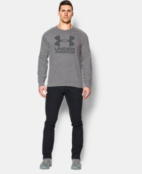 Men's UA Sportstyle Fleece Graphic Crew