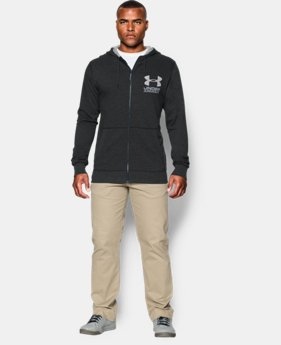 Men's UA Sportstyle Fleece Hoodie EXTENDED SIZES 3 Colors $48.99
