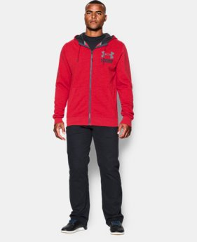 Men's UA Sportstyle Fleece Hoodie EXTENDED SIZES 8 Colors $48.99