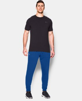 Men's UA Tri-Blend Fleece Jogger Pants