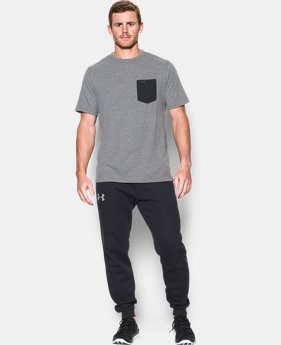 Men's UA Tri-Blend Pocket T-Shirt  1 Color $28.99
