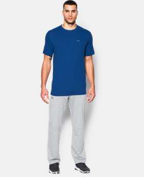Men's UA Tri-Blend Pocket T-Shirt LIMITED TIME: UP TO 50% OFF 5 Colors $21.74