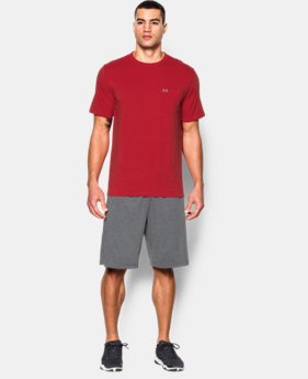 Men's UA Tri-Blend Pocket T-Shirt  1 Color $21.74