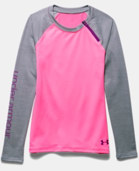 Girls' UA ColdGear® Raglan Crew