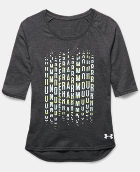 Girls' UA Surge ¾ Sleeve