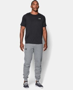 Best Seller  Men's UA Rival Fleece Jogger Pants LIMITED TIME: FREE SHIPPING 1 Color $59.99