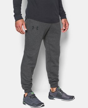Best Seller Men's UA Rival Fleece Joggers  5 Colors $49.99