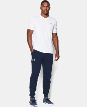 Men's UA Rival Fleece Jogger Pants EXTENDED SIZES 1 Color $49.99