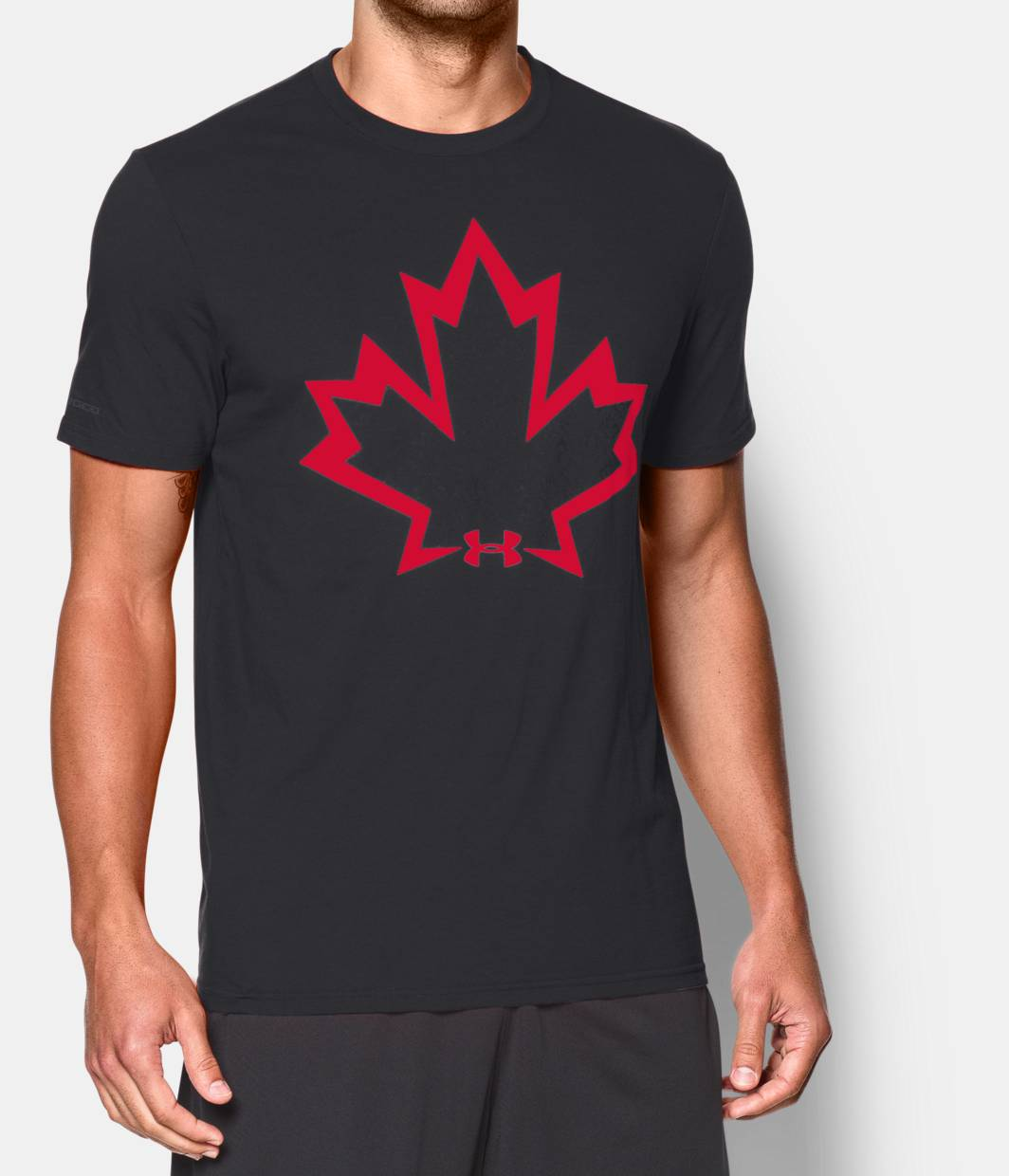 Men s rugby canada charged cotton t shirt under armour ca for Under armour shirts canada