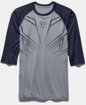 Boys' UA Undeniable ¾ Sleeve