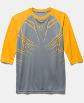 Boys' UA Undeniable Baseball ¾ Sleeve T-Shirt