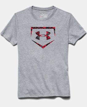 Boys' UA Baseball Big Logo T-Shirt