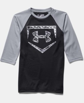 Boys' UA 9 Strong ¾ Sleeve T-Shirt