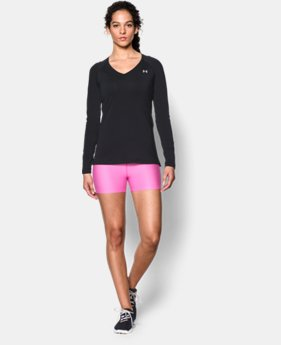 Women's UA HeatGear® Armour Long Sleeve LIMITED TIME: FREE U.S. SHIPPING 1 Color $24.99
