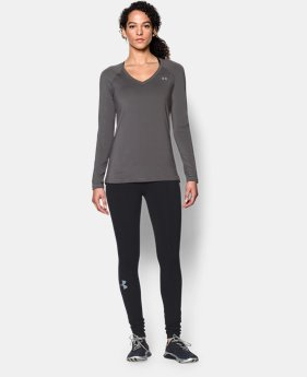 Women's UA HeatGear® Armour Long Sleeve  3 Colors $19.99 to $32.99