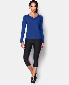 Women's UA HeatGear® Armour Long Sleeve  3 Colors $19.99 to $24.99