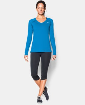 Women's UA HeatGear® Armour Long Sleeve  4 Colors $19.99 to $32.99