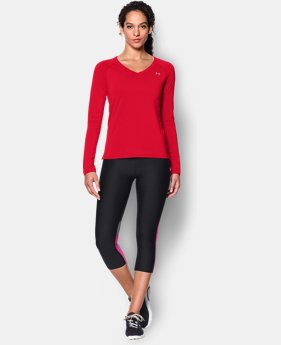 Women's UA HeatGear® Armour Long Sleeve  1 Color $19.99 to $32.99